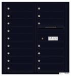 Florence 4C Mailboxes 4C09D-16 Black