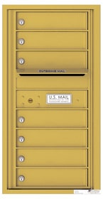 Florence 4C Mailboxes 4C09S-07 Gold Speck