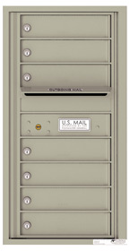Florence 4C Mailboxes 4C09S-07 Postal Grey