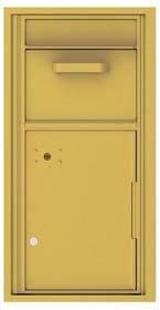 Florence 4C Mailboxes 4C09S-HOP Gold Speck