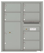 Florence 4C Mailboxes 4C10D-06 Silver Speck