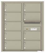 Florence 4C Mailboxes 4C10D-09 Postal Grey