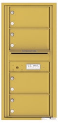 Florence 4C Mailboxes 4C10S-04 Gold Speck