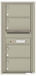 Florence 4C Mailboxes 4C10S-04 Postal Grey