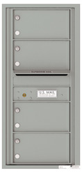 Florence 4C Mailboxes 4C10S-04 Silver Speck