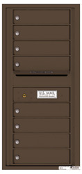Florence 4C Mailboxes 4C10S-08 Antique Bronze