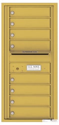 Florence 4C Mailboxes 4C10S-08 Gold Speck