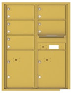 Florence 4C Mailboxes 4C11D-05 Gold Speck
