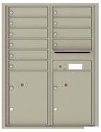 Florence 4C Mailboxes 4C11D-10 Postal Grey