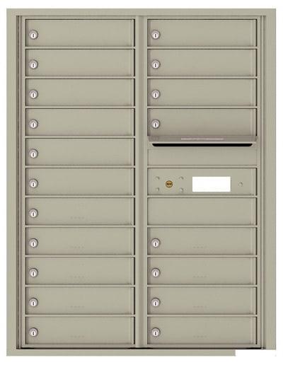 4C11D19 4C Horizontal Commercial Mailboxes