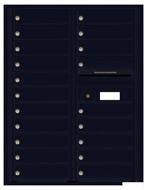 Florence 4C Mailboxes 4C11D-20 Black