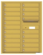 Florence 4C Mailboxes 4C11D-20 Gold Speck