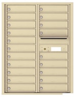 Florence 4C Mailboxes 4C11D-20 Sandstone