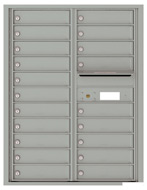 Florence 4C Mailboxes 4C11D-20 Silver Speck