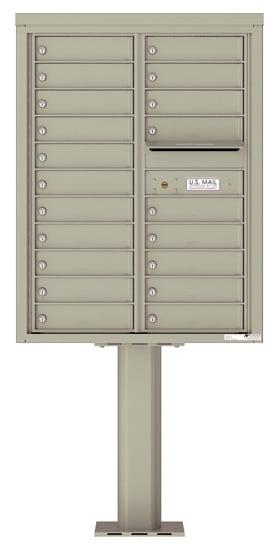 4C11D-20-P Commercial 4C Pedestal Mailboxes – 20 Tenant Doors Product Image