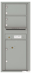 Florence 4C Mailboxes 4C11S-02 Silver Speck