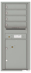 Florence 4C Mailboxes 4C11S-04 Silver Speck