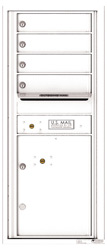 Florence 4C Mailboxes 4C11S-04 White
