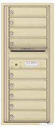 Florence 4C Mailboxes 4C11S-09 Sandstone