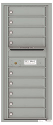 Florence 4C Mailboxes 4C11S-09 Silver Speck