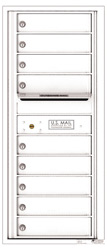 Florence 4C Mailboxes 4C11S-09 White