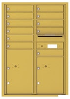 Florence 4C Mailboxes 4C12D-11 Gold Speck