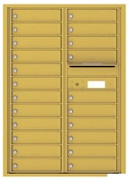 Florence 4C Mailboxes 4C12D-22 Gold Speck