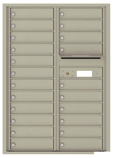 4C12D22 4C Horizontal Commercial Mailboxes
