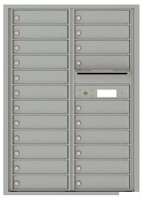Florence 4C Mailboxes 4C12D-22 Silver Speck