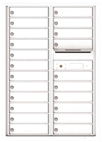 Florence 4C Mailboxes 4C12D-22 White