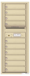 Florence 4C Mailboxes 4C12S-10 Sandstone