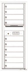 Florence 4C Mailboxes 4C12S-10 White