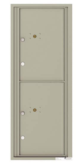 4C12S-2P Front Loading Private Use Commercial 4C Parcel Lockers – 2 Parcel Lockers Product Image