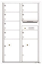 Florence 4C Mailboxes 4C13D-07 White