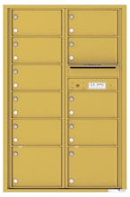 Florence 4C Mailboxes 4C13D-11 Gold Speck