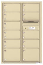 Florence 4C Mailboxes 4C13D-11 Sandstone