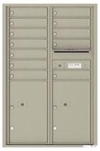 Florence 4C Mailboxes 4C13D-12 Postal Grey