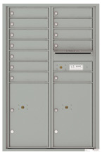 Florence 4C Mailboxes 4C13D-12 Silver Speck