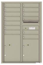 Florence 4C Mailboxes 4C13D-13 Postal Grey