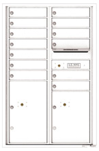 Florence 4C Mailboxes 4C13D-13 White