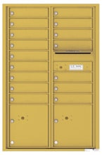 Florence 4C Mailboxes 4C13D-16 Gold Speck