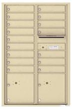 Florence 4C Mailboxes 4C13D-16 Sandstone