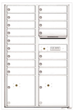 Florence 4C Mailboxes 4C13D-16 White
