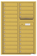Florence 4C Mailboxes 4C13D-24 Gold Speck