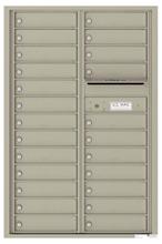 Florence 4C Mailboxes 4C13D-24 Postal Grey
