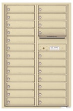 Florence 4C Mailboxes 4C13D-24 Sandstone