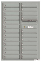 Florence 4C Mailboxes 4C13D-24 Silver Speck