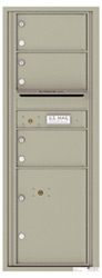 Florence 4C Mailboxes 4C13S-03 Postal Grey