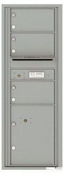 Florence 4C Mailboxes 4C13S-03 Silver Speck