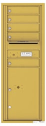 Florence 4C Mailboxes 4C13S-05 Gold Speck